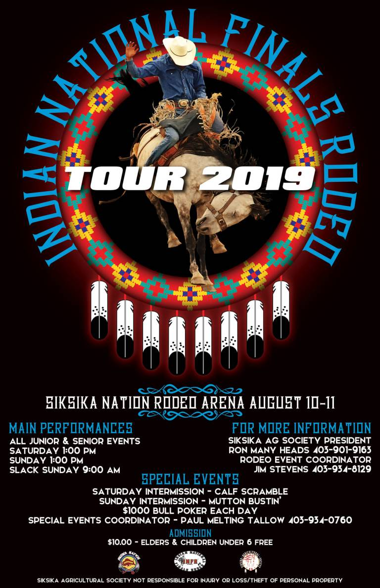 INDIAN NATIONAL FINALS RODEO TOUR 2019