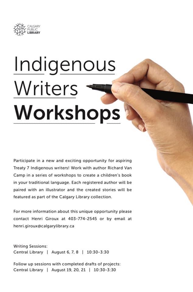 Indigenous Writers Workshops