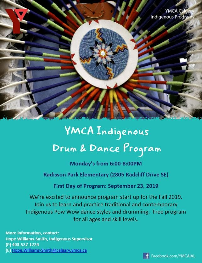 YMCA Indigenous Drum & Dance Program
