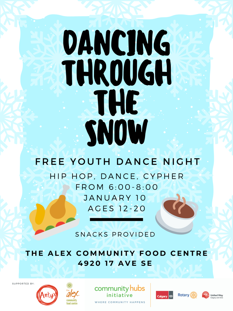 Dancing Through The Snow – Free Youth Dance Night
