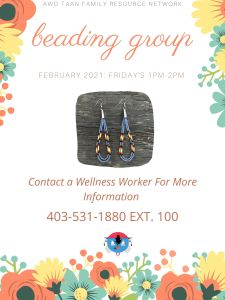 Awo Taan Family Resource Network | Beading Group