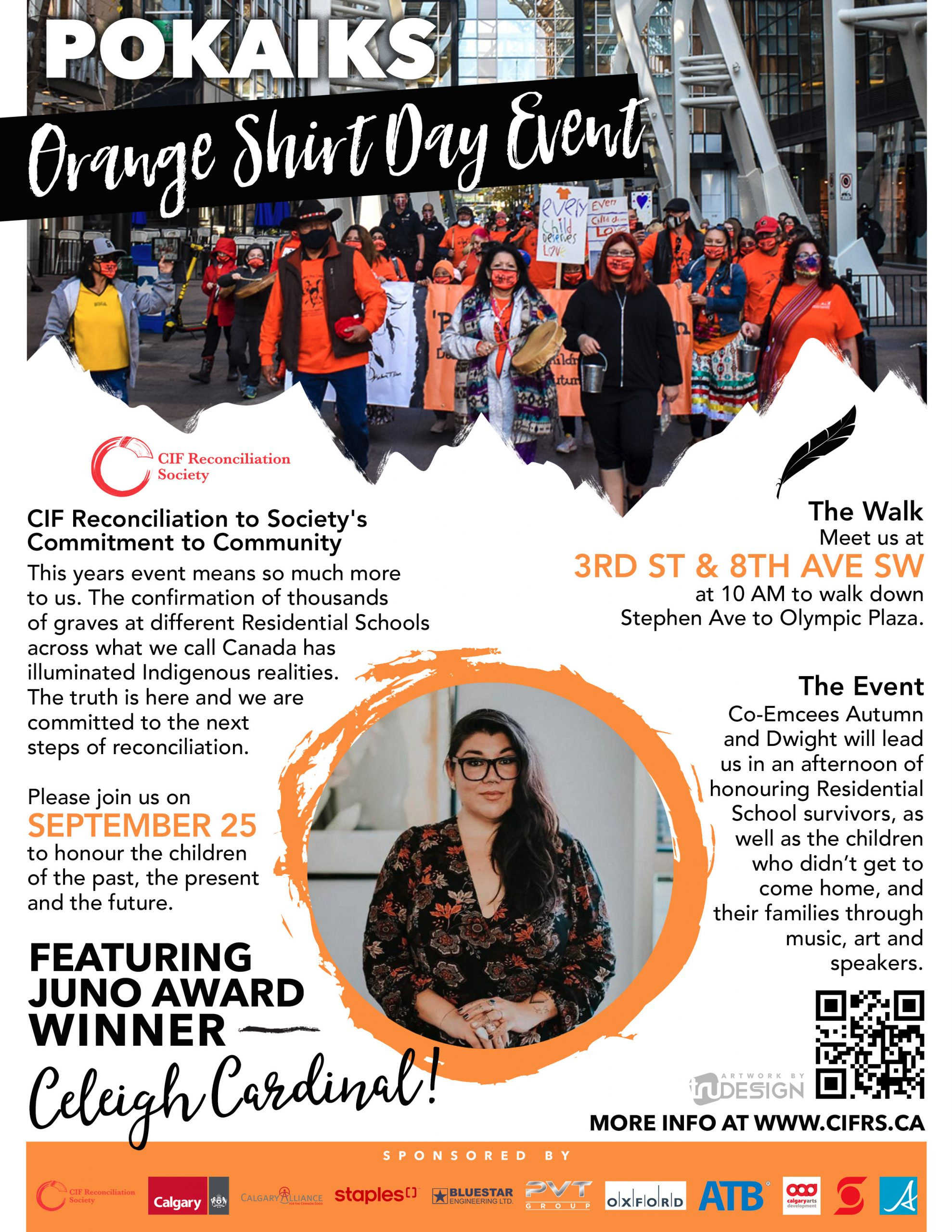 Read more about the article POKAIKS  Orange Shirt Day event