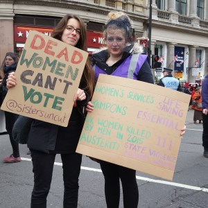 banners dead women cant vote