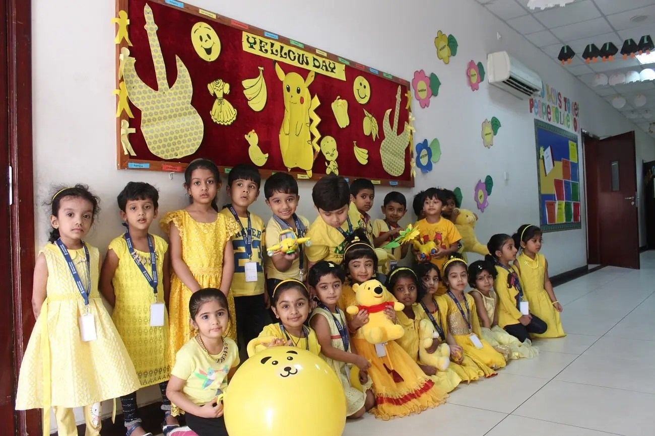 Yellow Day Celebrations