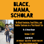 Vegan Pregnancies Risky? Black Mama Scholar (A.K.A. Sistah Vegan) Speaks