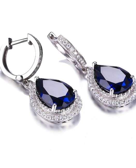 Hathor: 11.5 Ct Sapphire Earrings