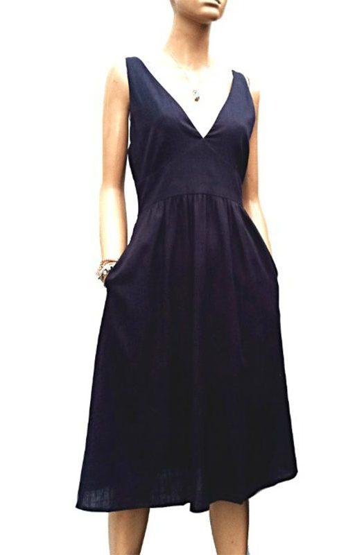 Holiday: Gorgeous Linen Dress