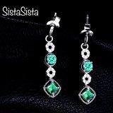 Orion: Emerald Earrings