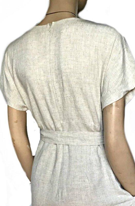 6da31142a5 Lauren  Sunny Girl Linen Jumpsuit - Sista Sista