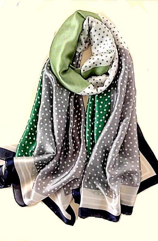 Bardot: Exquisite 100% Silk Scarf