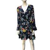 Felicity: Sunny Girl Wrap Around Dress
