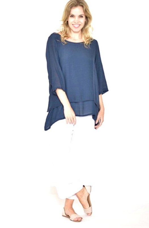 Mariana: Superb Double Layered Top