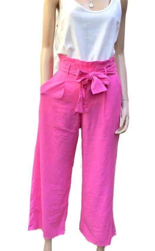 Britney: Sunny Girl 100% Linen Pants