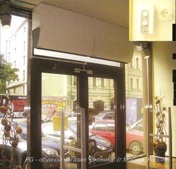 Воздушные тепловые завесы: Systemair Portier