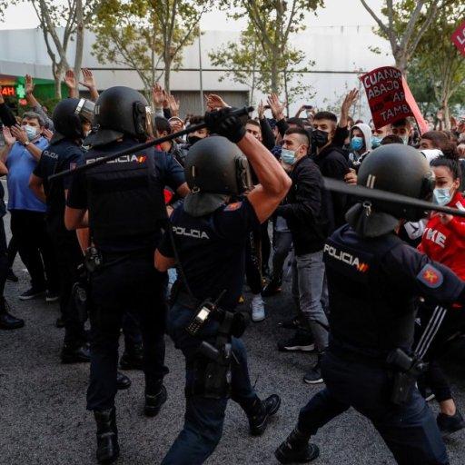 Represión policial