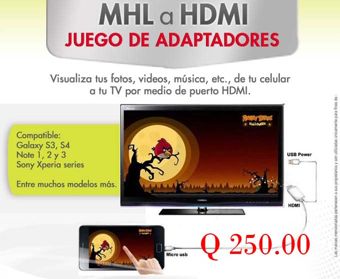 MHL a HDMI - Sistemas Alternativos