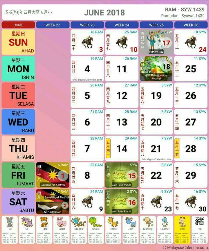 Calendar Kuda Sia : Kalendar jadual cuti dan takwim malaysia paling