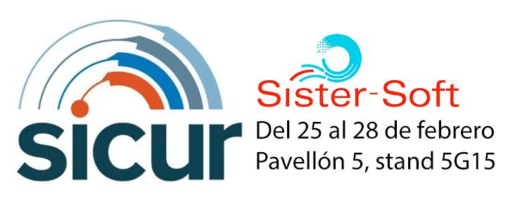 Sister-Soft en SICUR 2020 - Pavellón 5, stand 5G15