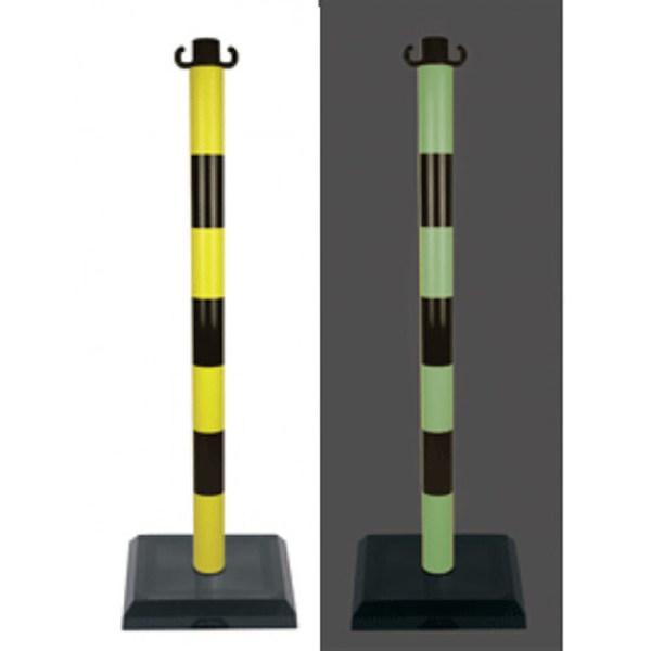Postes PVC fotoluminiscentes con base 3Kg