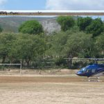 HAS soccer field used for emergency helicopter landings