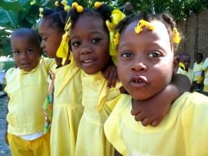 Deschapelles school children