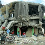 Earthquake damage in Port au Prince