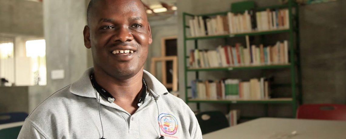 Meet librarian, Besly Belizaire