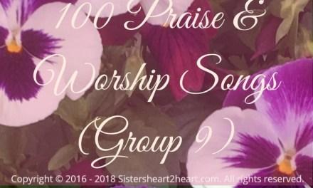 100 Top Praise & Worship Songs (Group 9)