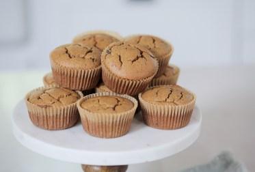muffin integral para lanche das crianças