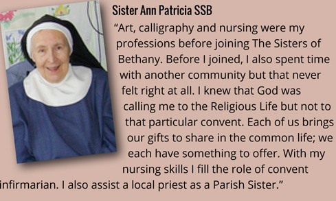 Sr Ann Patricia on vocation