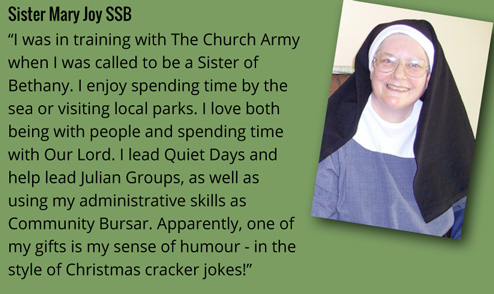 Sr Mary Joy on vocation