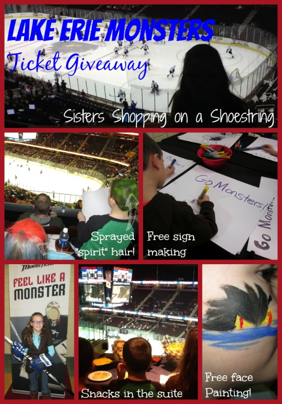 Lake Erie Monsters Ticket Giveaway! – Sisters Shopping ...
