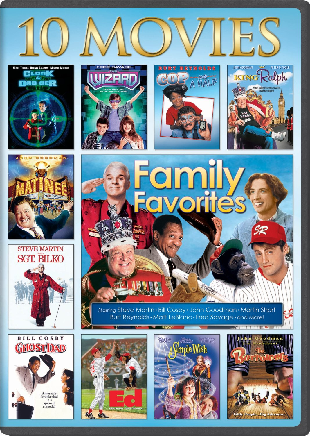 Family Favorite 10 Movie Collection Only 5 Reg 1498