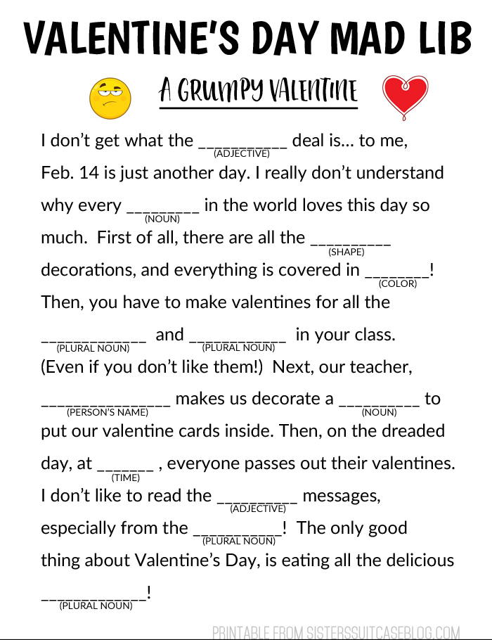 image regarding Mad Libs for Middle Schoolers Printable referred to as holiday vacation insane libs Leancy Generate