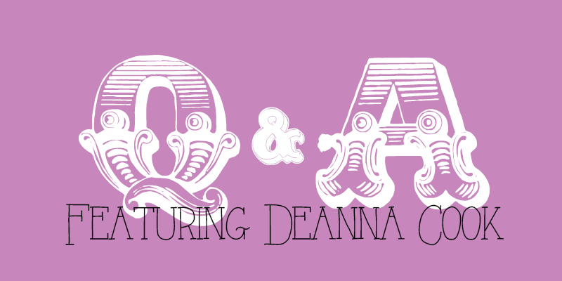 """The feature image for Sister Triangle article """"Q&A Featuring Deanna Cook"""""""