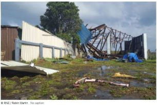 Storm chaos: 'The house is almost completely blown over' – MSN News