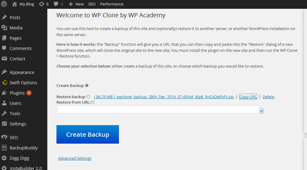 Cara Cloning Atau Copy Website WordPress Paling Mudah