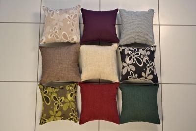 cushion pair small 45 x 45cm