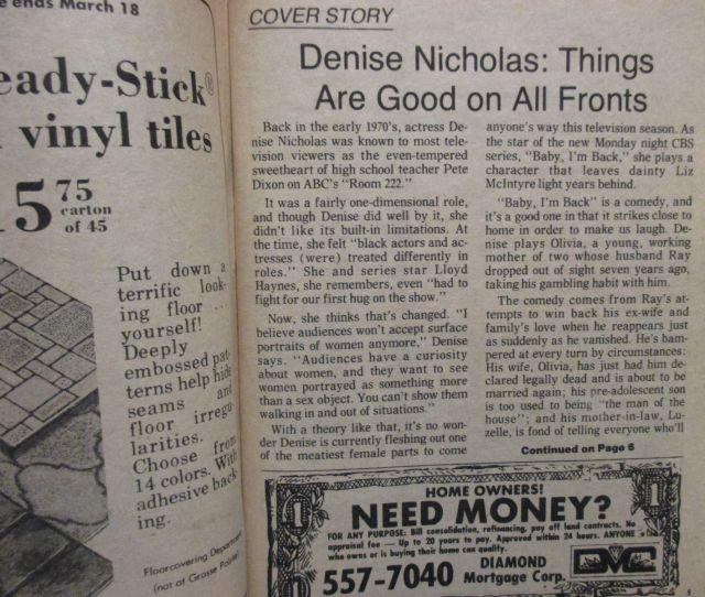 February 28 1978 Detroit News Tv Magazine2 Sitcoms Online Photo Galleries