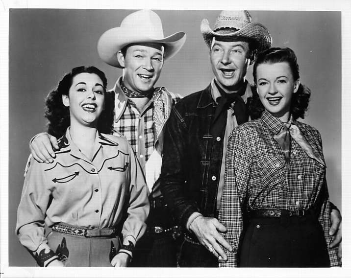 Image result for roy rogers show cast