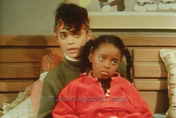 80s Denise Hair =F.R.E.S.H. And look at lil Rudy!