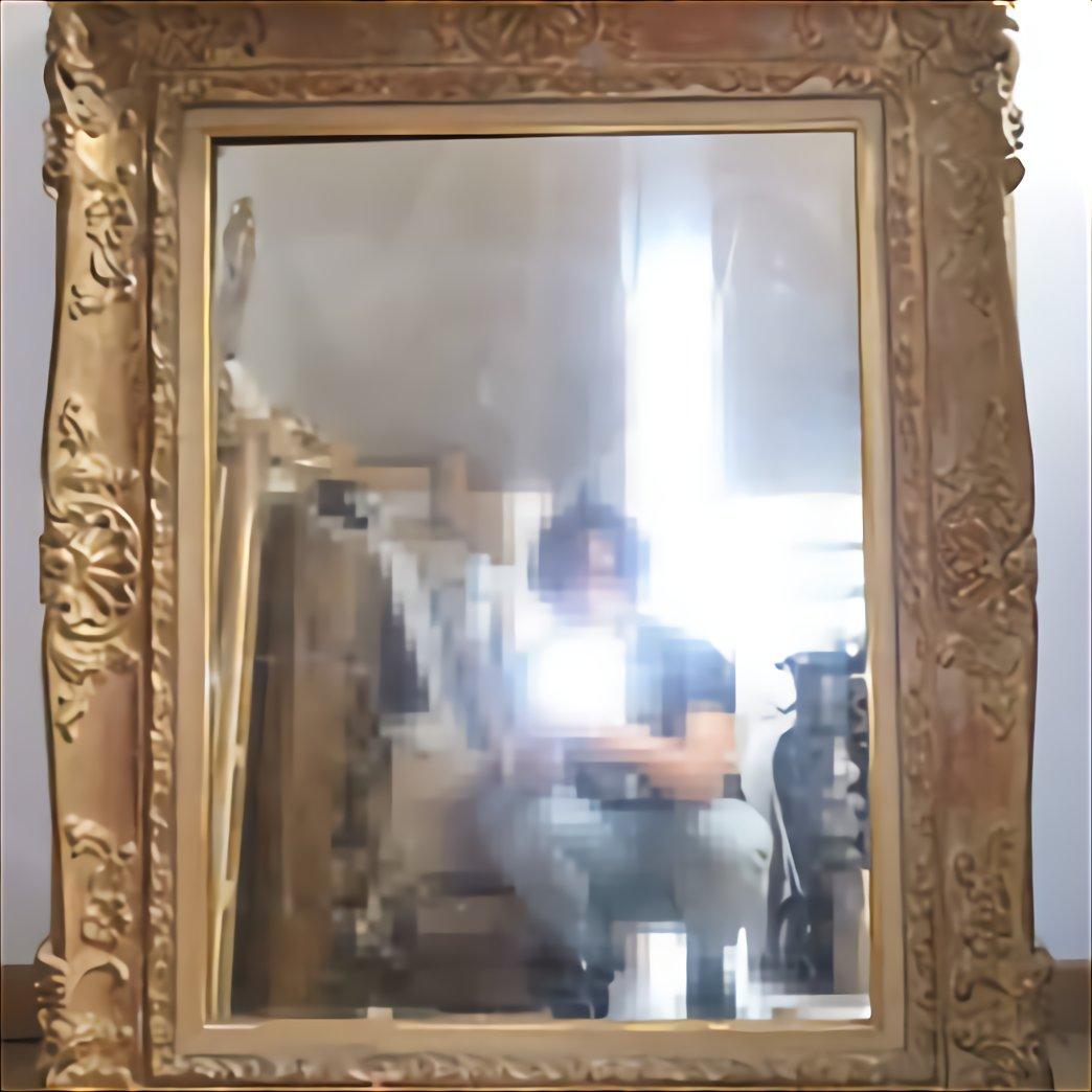 miroir ancien bois sculpte d occasion