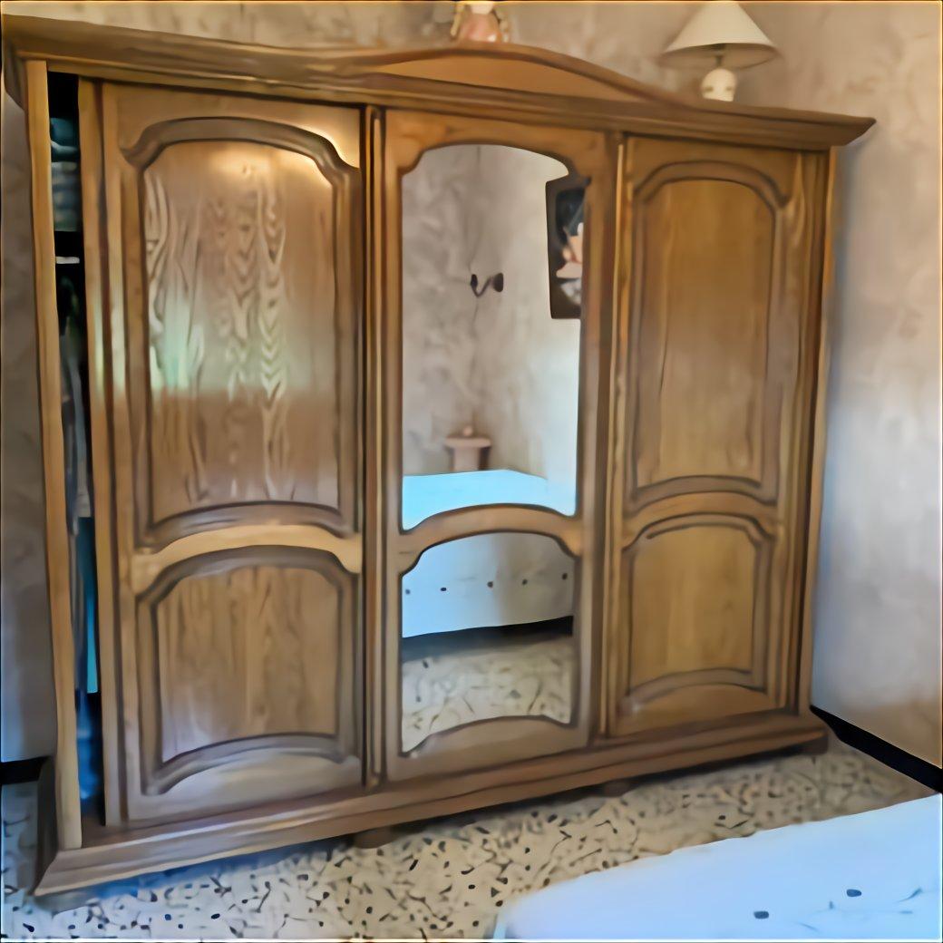 armoire penderie bois massif d occasion