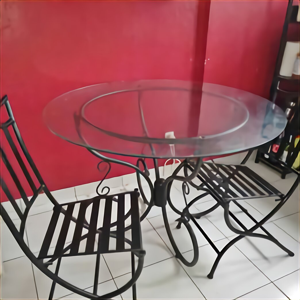 table verre fer forge d occasion