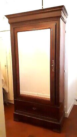 armoire ancienne une porte bright