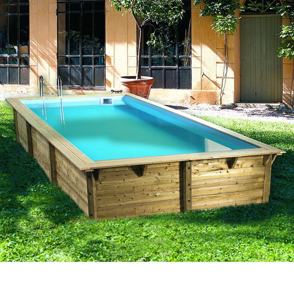 pop trend drvored piscine bois carree amazon