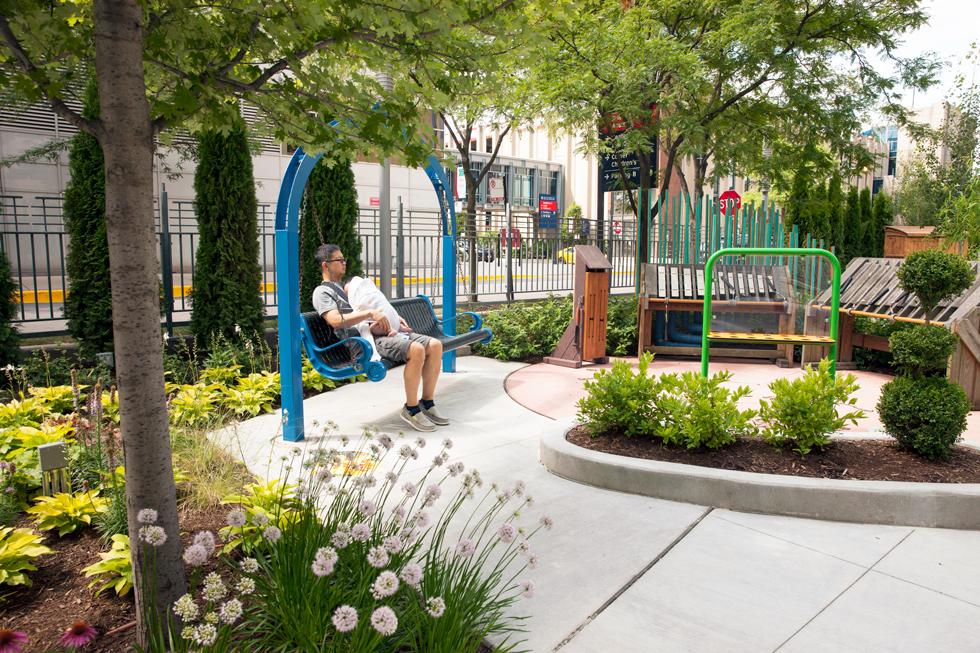 Comer Children S Hospital Playground Garden