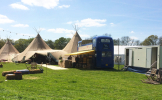 Glamping Loo Shower Hire