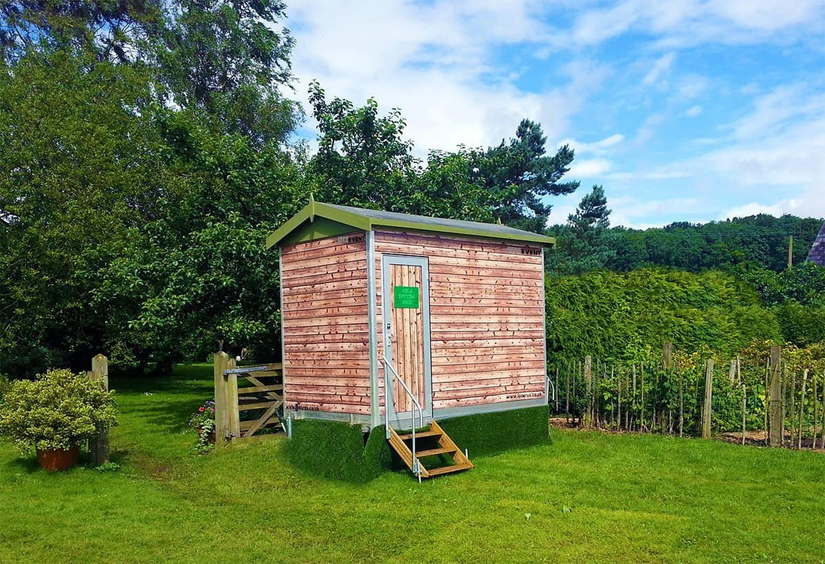 Mobile Potting Shed Toilet