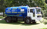 Tanker Emptying Liquid Waste Disposal